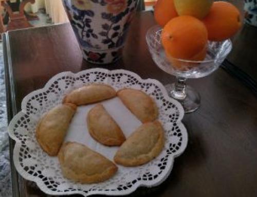 """""""Pastissets"""" de confitura de naranja"""